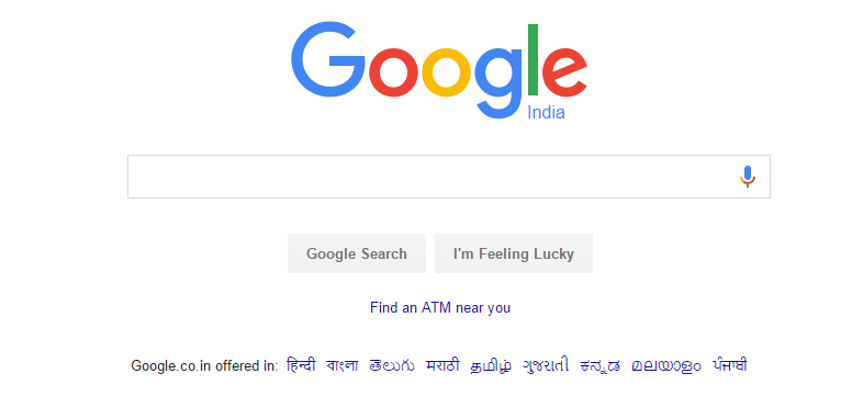 Find nearest ATMs Cash Available