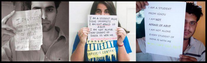 #StudentsAgainstABVP