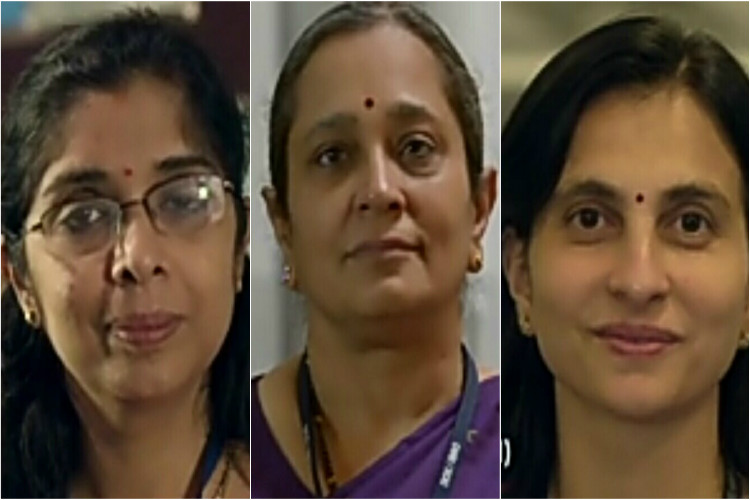 women scientists collage