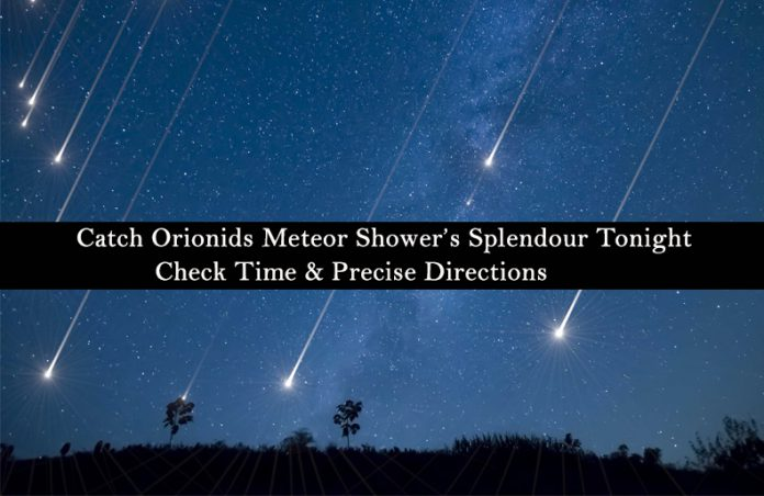 Catch The Splendour Of Orionids Meteor Shower Tonight