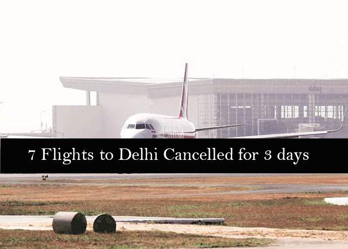 More than 20 flights affected due to smog in Delhi