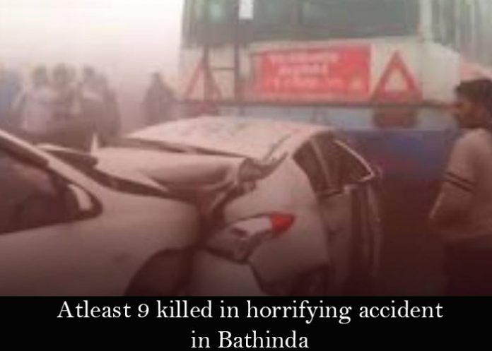 smog bathinda accident