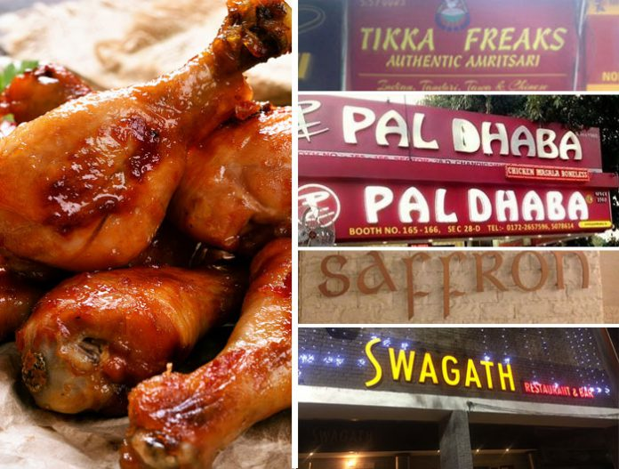 best chicken places chandigarh