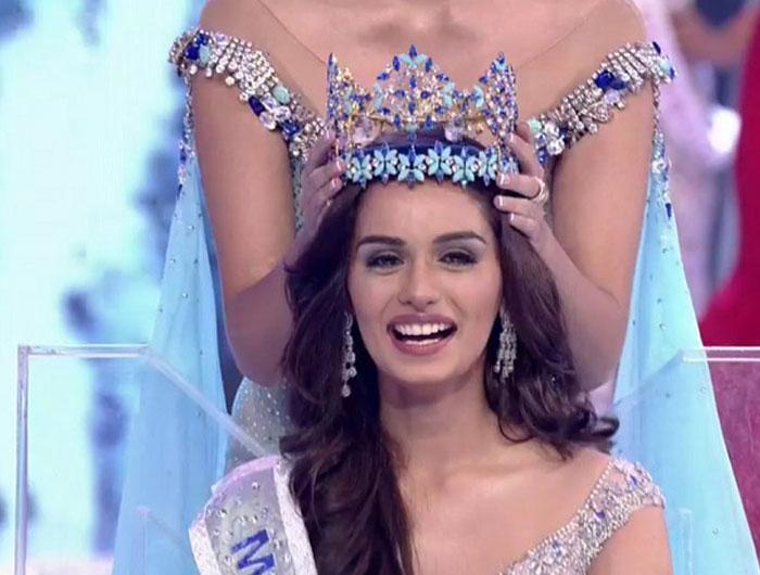 Indian Girl Manushi Chhillar Wins Miss World 2017