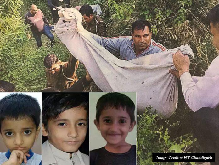 children murder panchkula morni hills