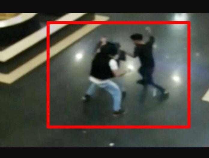 zirakpur mall fight video