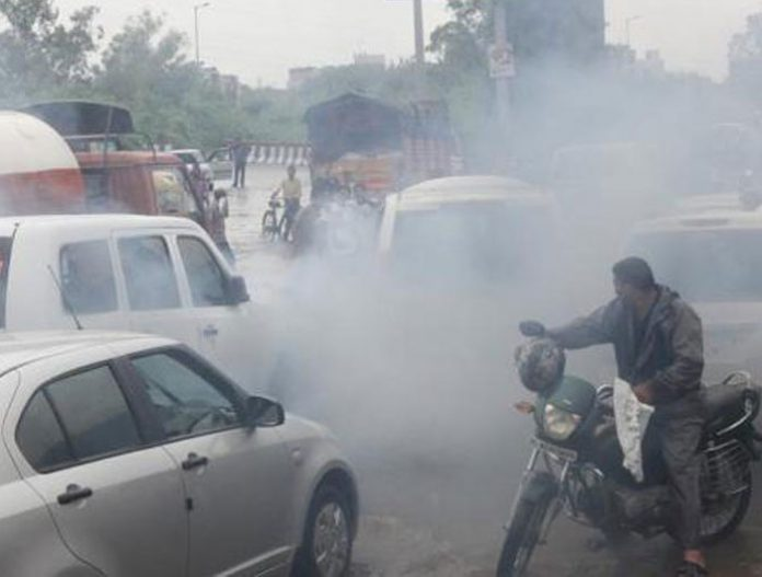 pollution chandigarh