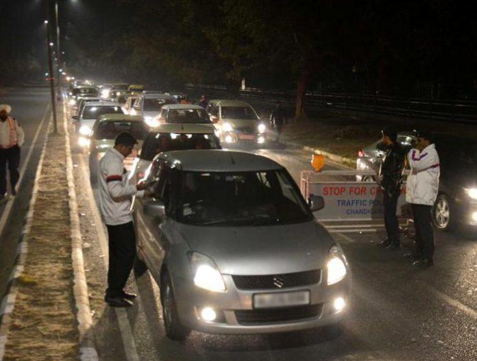 Chandigarh-traffic-police