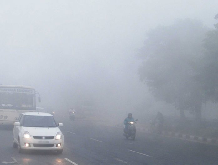 Fog-in-Chandigarh