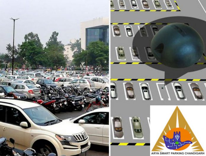 Chandigarh Smart Parking app