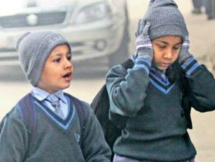 winter Timings in chandigarh schools