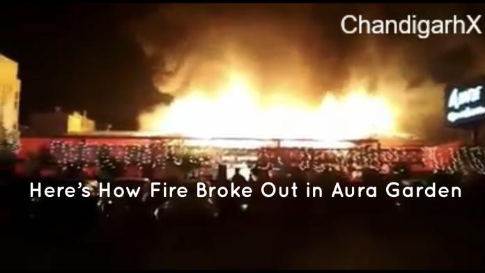Aura Garden fire