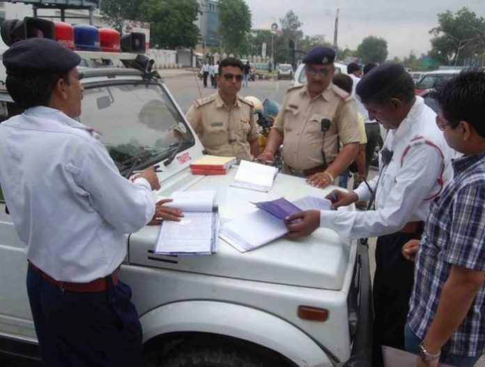 chandigarh traffic police
