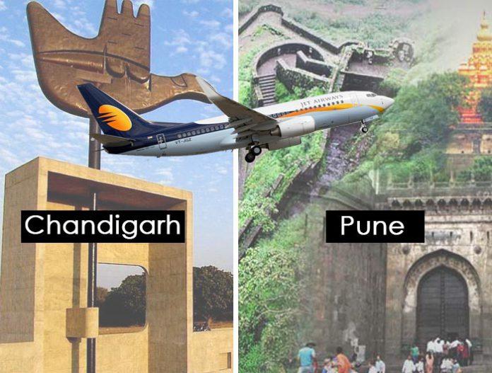 chandigarh-pune-flight